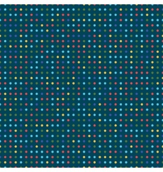 colorful dots vector image