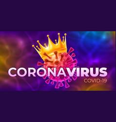 coronavirus covid19-19 disease outbreak concept vector image