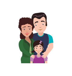 couples relationship family child vector image