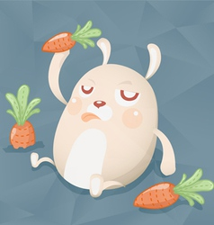 fat cony vector image