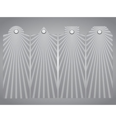 Price lists tag Sun rays Eps 10 vector image
