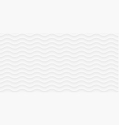white waves pattern curved lines grey background vector image