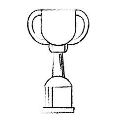 award cup sport win sketch vector image vector image