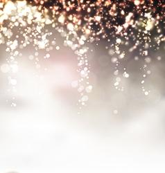 Christmas Lights vector image vector image