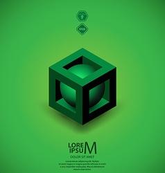 Plus logo vector image vector image
