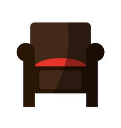 couch chair icon image vector image vector image