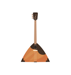 Balalaika string musical instrument vector