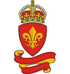 coats arms vector image