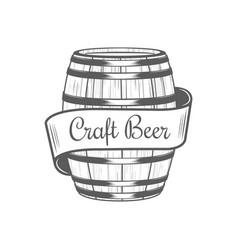 Craft beer logotype vector