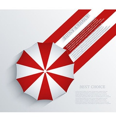 creative umbrella background Eps10 vector image