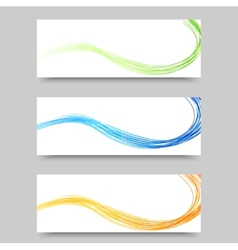 Interface abstract background design vector image