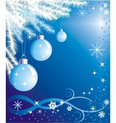new-year background vector image