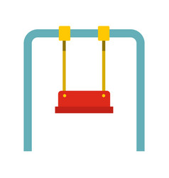 swing icon flat style vector image