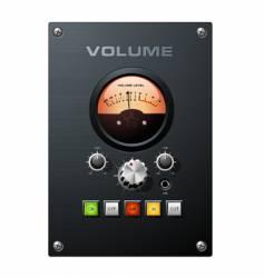 volume meter vector image