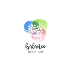 Alternative medicine and wellness yoga vector image