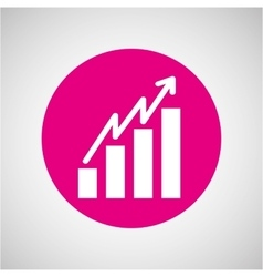 growth icon design vector image