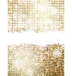 Christmas Golden Backdrop EPS 10 vector