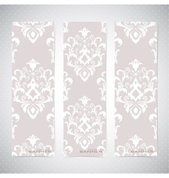 Collection vertical banners in the style of vector image