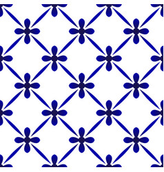 cute ceramic pattern decor vector image