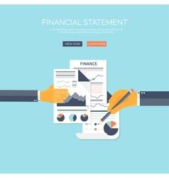 Financial concept vector