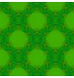 Green Seamless Polygonal Pattern vector image