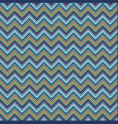 vivid zigzag geometric seamless pattern vector image