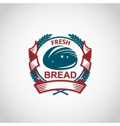 Bakery label image vector