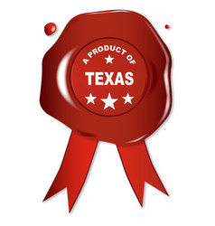 a product of texas vector image