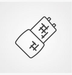 bandage icon sign symbol vector image