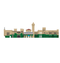 Bangalore palace vector