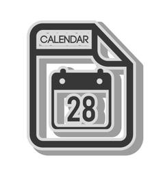 Calendar format type vector