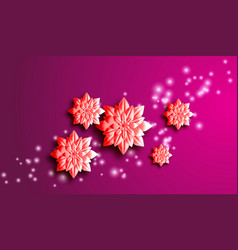 eps 10 spring background for the design of flowers vector image