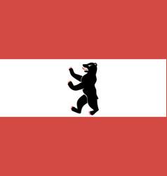 flag berlin vector image