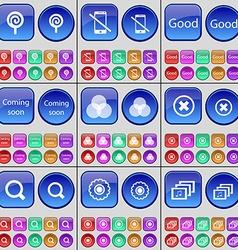 Lollipop Smartphone Good Coming soon RPB Stop vector