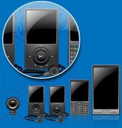 Mobile multimedia vector