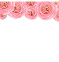 Pastel Pink Rose vector image