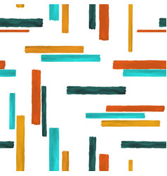 seamless pattern colorful geometric background vector image