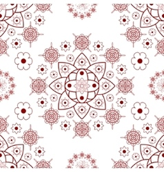 Vintage design element in Eastern style vector image