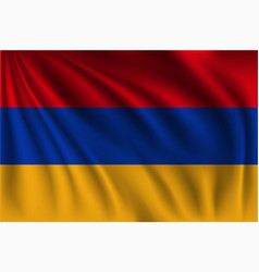 Waving armenia vector