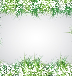 Christmas Fir Frame vector
