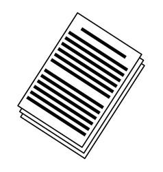 Document information file digital concept vector
