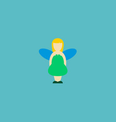 fairy icon flat element of vector image