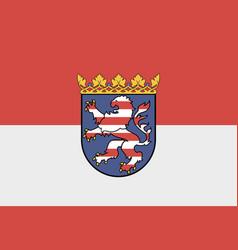 Flag hessen vector