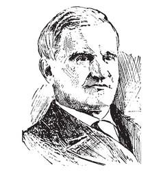 Francis parkman vintage vector
