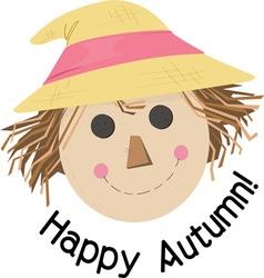 Happy Autumn vector
