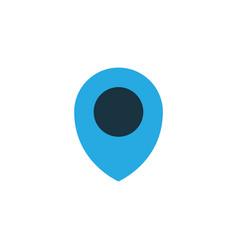 location colorful icon symbol premium quality vector image