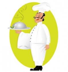 Professional chef vector