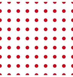 Red dotes seamless vector