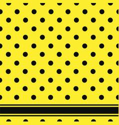 seamless retro texture polka dots vector image