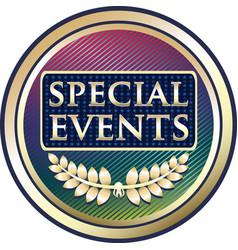 Special events icon vector